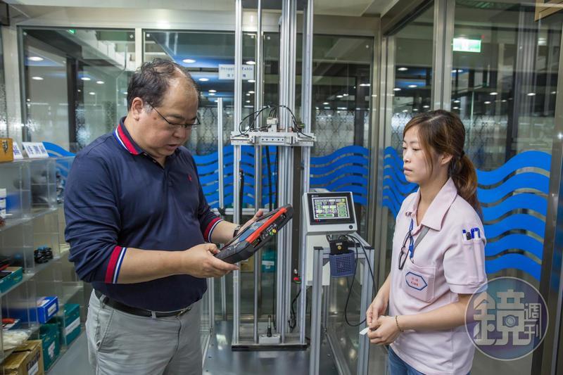 林健祥砸1.3億打造國家級實驗室,強化大數據分析能力,送有學習意願的基層員工進修,提升團隊實力。