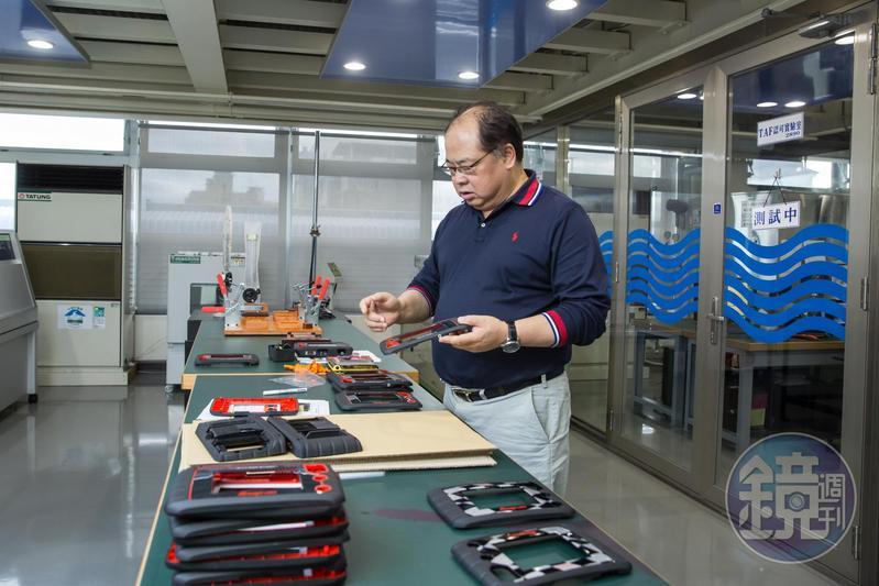 林健祥做生意有所為有所不為,把所有心思花在改善產品與製程,替公司樹立良好口碑。