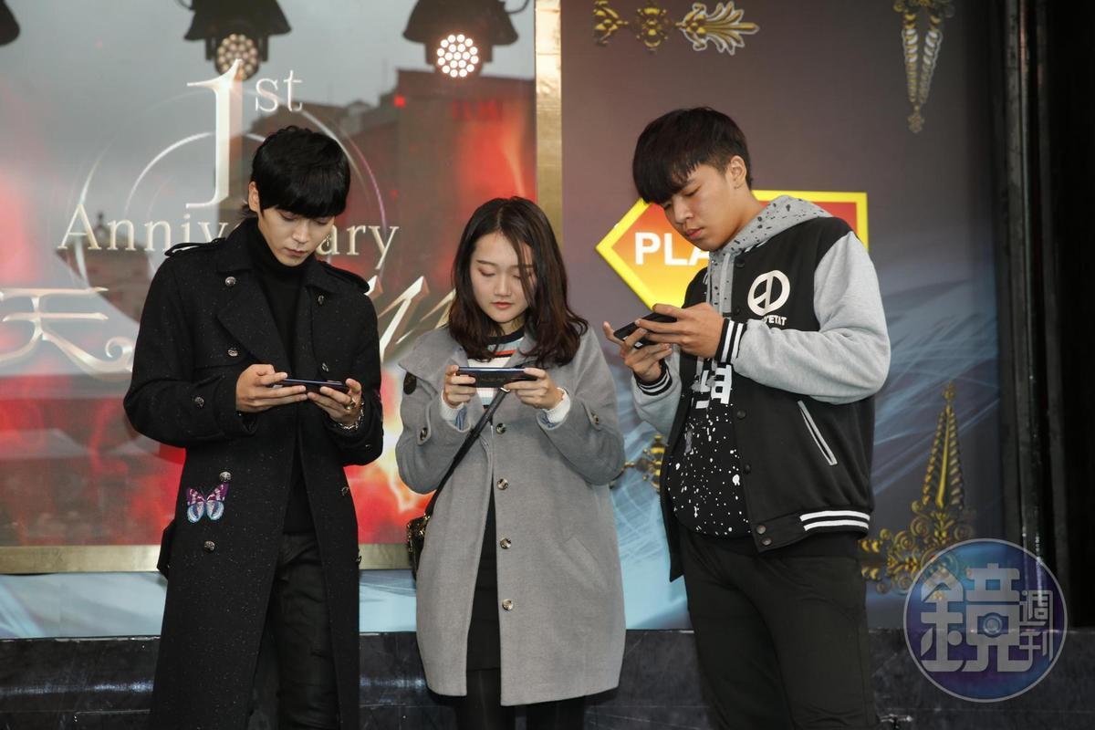 現場Bii也與玩家PK較量身手。