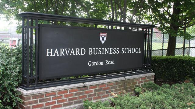 哈佛商學院以培養頂尖管理人才著稱,卻也被批評是企業貪婪肥貓的搖籃。(網路截圖,HBS)