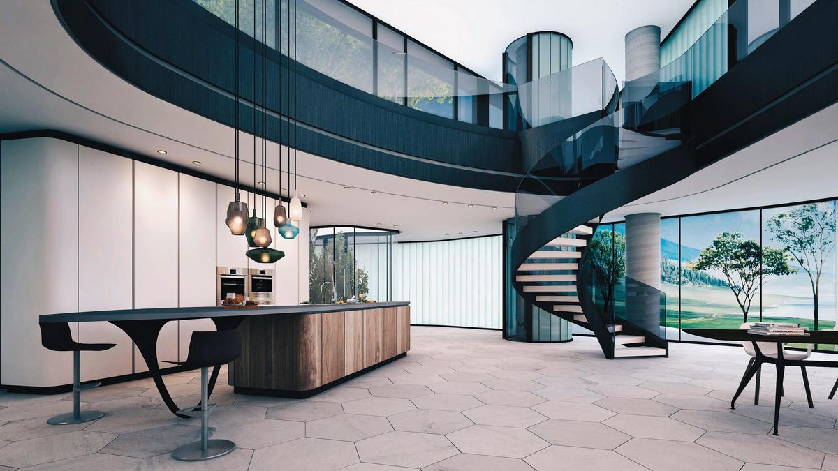 蓋在懸崖上的台東金樽林宅,是2017年WA得獎作品,同期獲獎的還有剛過世的大師Zaha Hadid作品。(橙田建築提供)