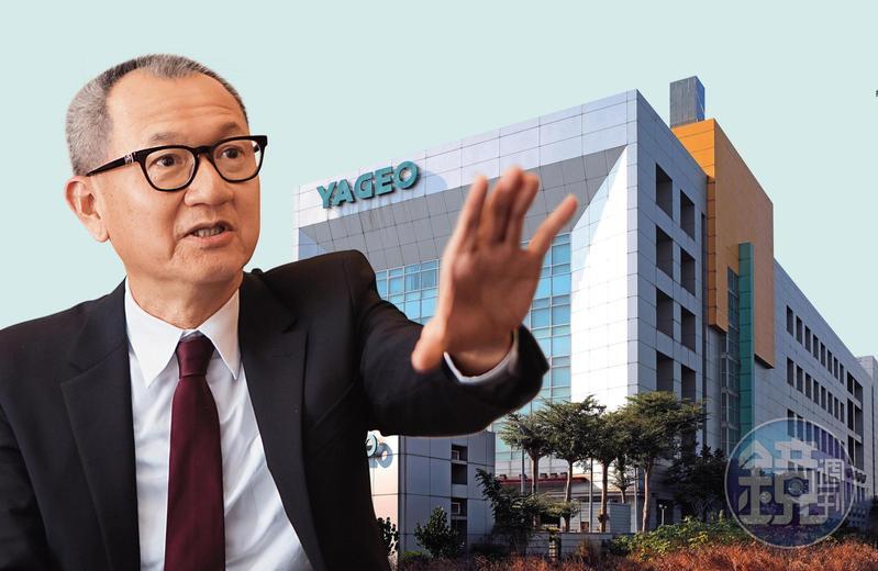 大環境詭譎多變,國巨董事長陳泰銘擬定不再只做被動元件的發展策略。