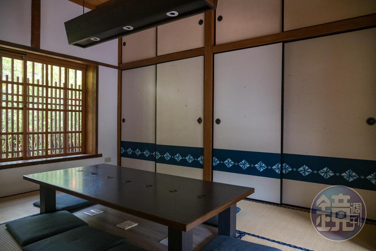 日式建築即是用餐空間。