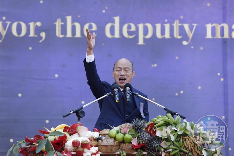新上任的高雄市長韓國瑜除了力挺「九二共識」,最近呼籲中央開放陸資買房,引起熱議。