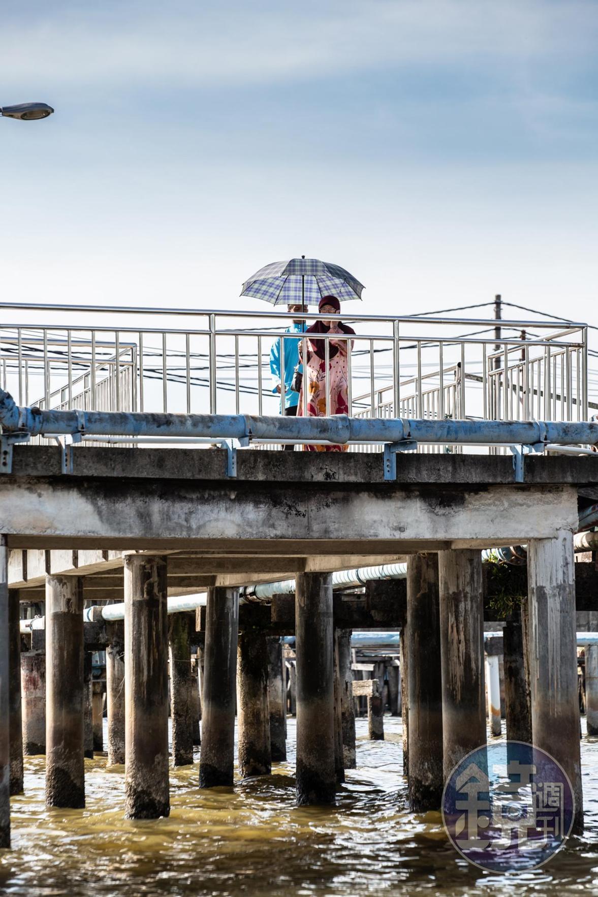 汶萊仍有10%的人選擇居住在水上。