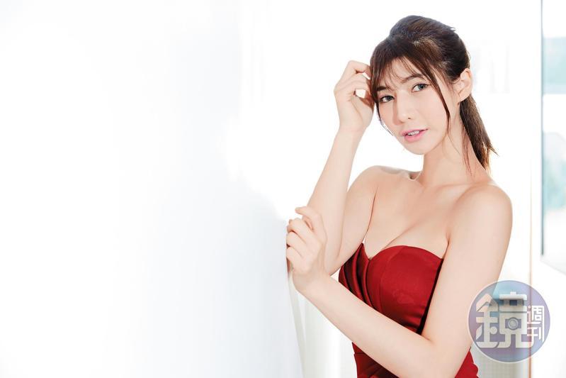 外型甜美的阿澎偶像卻是吳君如,很希望自己能當個女諧星。