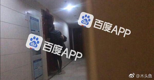 言承旭被中國大陸媒體拍到跟男星田家達同住。(翻攝自《百度APP》)