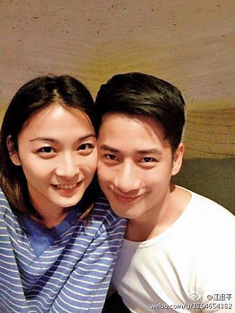 周孝安最知名的戀情,就是拍戲生情的江祖平(左),但後來無疾而終。(翻攝自江祖平微博)