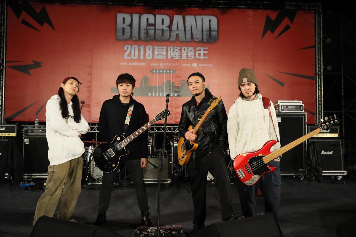 滅火器選在基隆跨年,甚至有香港歌迷來朝聖。(新視紀整合行銷提供)