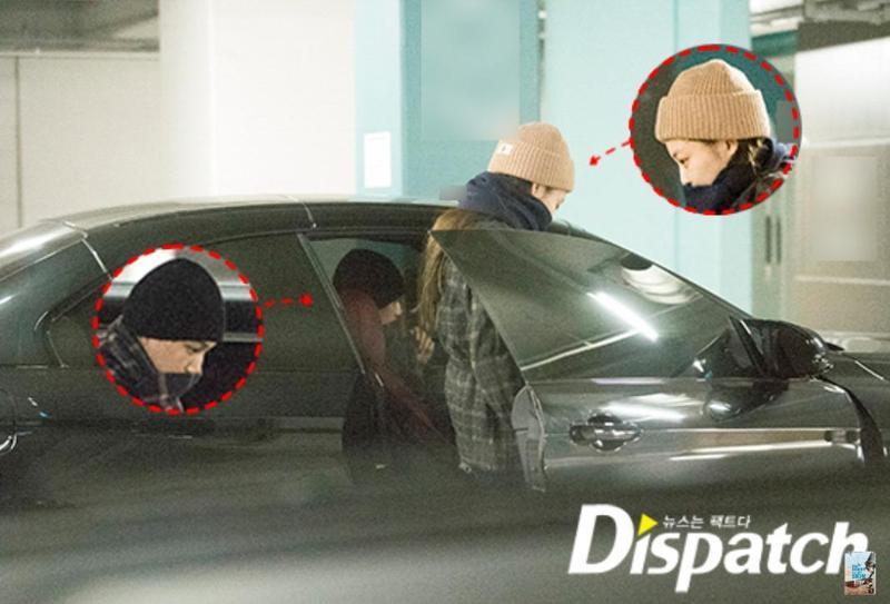 EXO成員KAI與BLACKPINK的JENNIE被韓媒踢爆戀愛ING。(翻攝自DISPATCH網站)