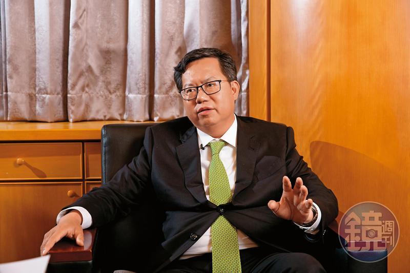 桃園市長鄭文燦接受本刊專訪,暢談他對民進黨在敗選後改造的想法。