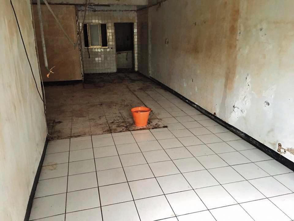 【處理後】過去盧致宏曾處理過推滿雜物、屋況極差的房子,除了清潔,也幫忙拆除老舊的木板隔間。(盧致宏提供)