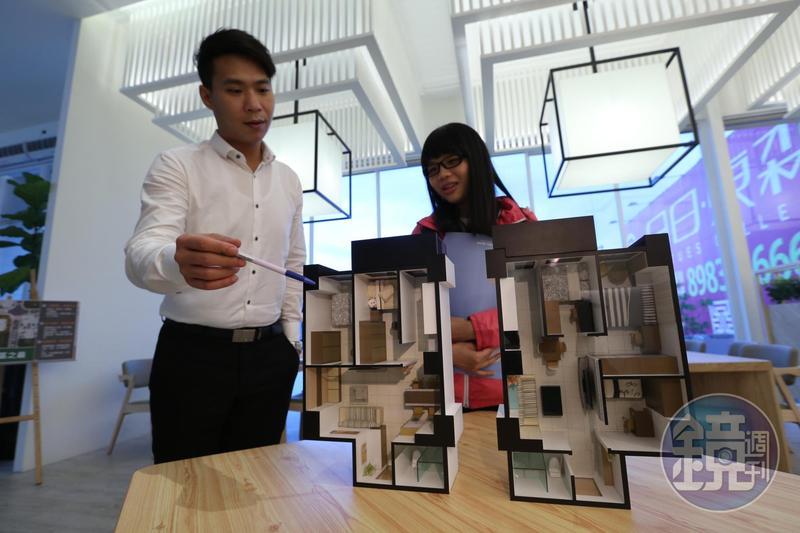 隨著人口結構需求改變,小宅成為市場寵兒。