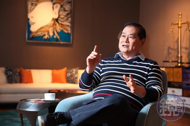 回想起創業過程,是一位美國人鼓勵並借他200萬元,謝智通仍覺得不可思議。