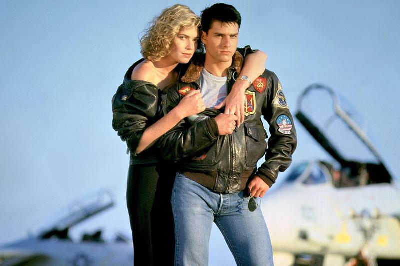湯姆克魯斯在電影〈捍衛戰士〉穿的皮夾克由謝智通的皮衣廠製作,在80年代紅極一時。(翻攝網路)