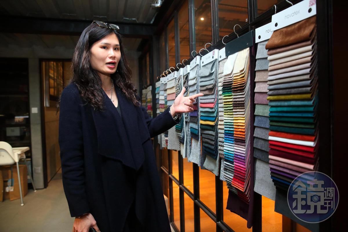 商億所有產品都能接受客製化訂單,顏色、尺寸、布料都可以改。