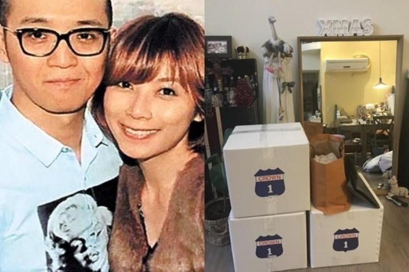 貴婦奈奈和老公黃博健潛逃出境,台北地檢署去年底已祕密搜索貴婦奈奈住處及診所,發現貴重衣物早已打包一空,不排除預謀捲款潛逃。(翻攝自貴婦奈奈臉書)