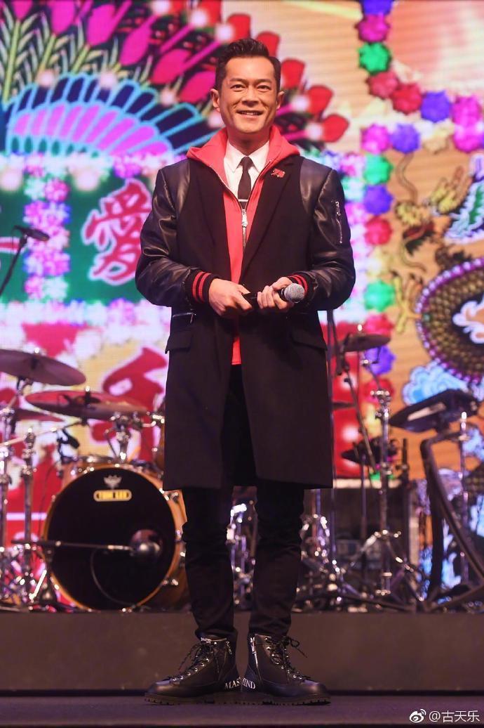 古天樂對於打敗陳奕迅奪得「我最喜愛的男歌手」,感到難以置信。(翻攝自古天樂微博)
