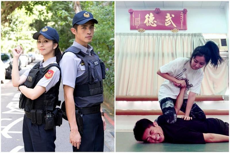 梁正群和周曉涵情同兄妹,出演新劇飾演警界學長學妹。