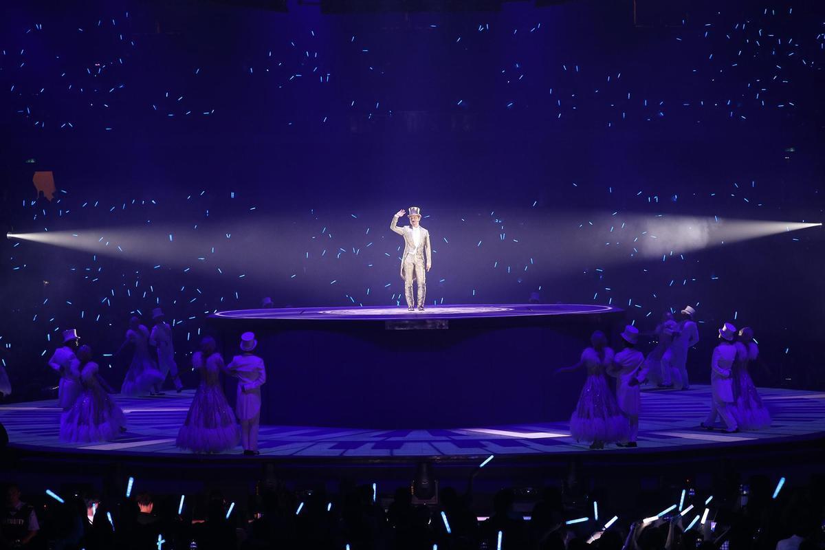 張學友的《A CLASSIC TOUR學友‧經典》世界巡迴演唱會4日起在高雄巨蛋連唱3天、票房早已秒殺完售。(環球提供)