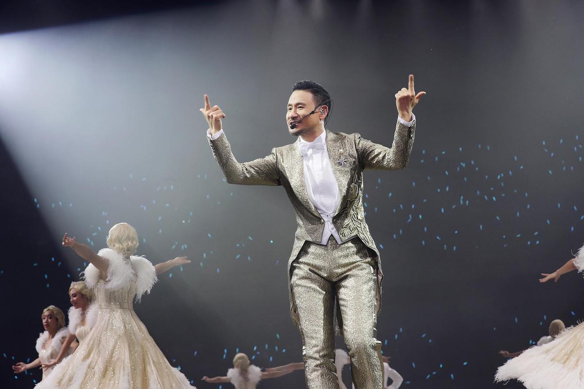 張學友高雄演唱會是世界巡演倒數第2站,之後將在香港劃下完美句點。 (環球提供)
