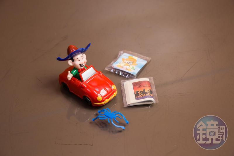 乖乖首開零食附贈玩具先例,車、漫畫都曾引起風潮。