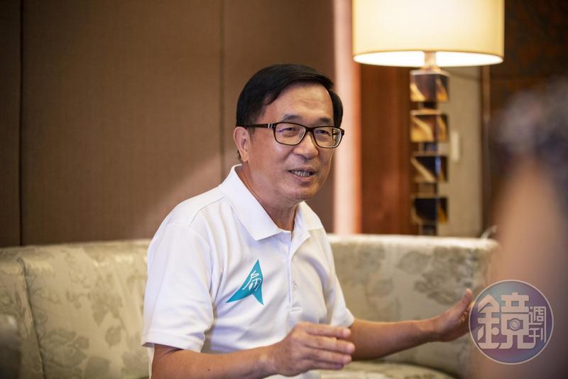 民進黨主席補選結果揭曉,前總統陳水扁喊話卓榮泰,要他用行動證明不是保皇黨。