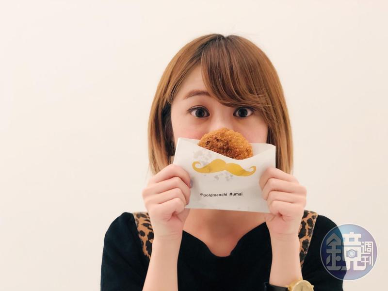 「金葉名氣餅」引進東京銀座名店超人氣炸肉餅。