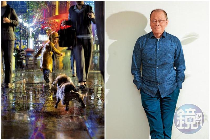導演張毅闊別影壇、投入琉璃事業30年後,又以動畫電影《狗狗傷心誌》與觀眾見面。(左圖A-hha Studio提供)