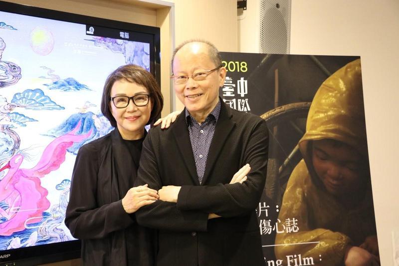 張毅與楊惠姍無論從事琉璃事業或拍攝動畫電影都同心合力攜手完成。(台中動畫影展提供)