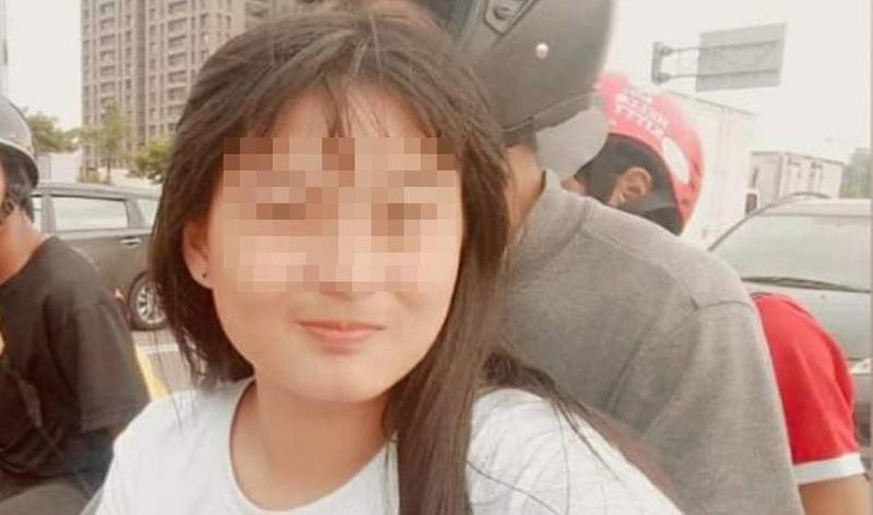 就讀國二的方姓少女去年十月離家出走,經本刊報導後,警方在今天中午尋獲方女,所幸相當平安。(警方提供)