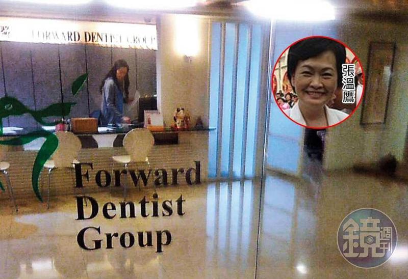 豐富主持的高檔診所,曾聘請前台中市長張溫鷹看診。