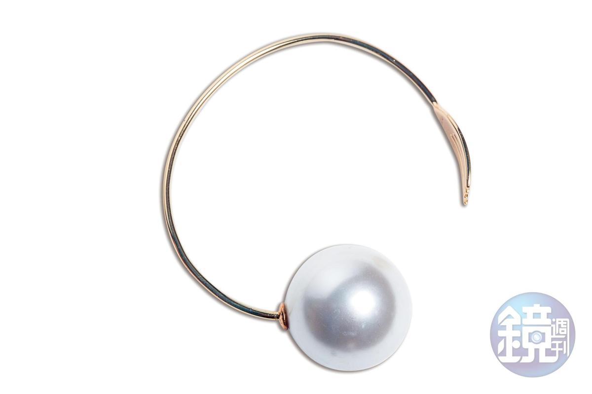 HEFANG Jewelry珍珠手環。約NT$8,000