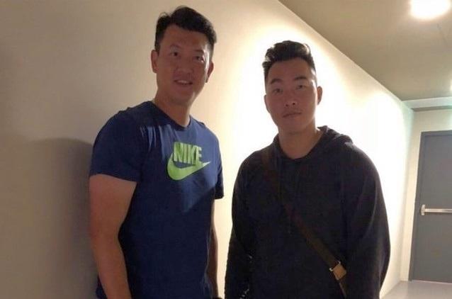 郭泓志看了王建民的紀錄片深受感動,決定要復出。(翻攝郭泓志IG)