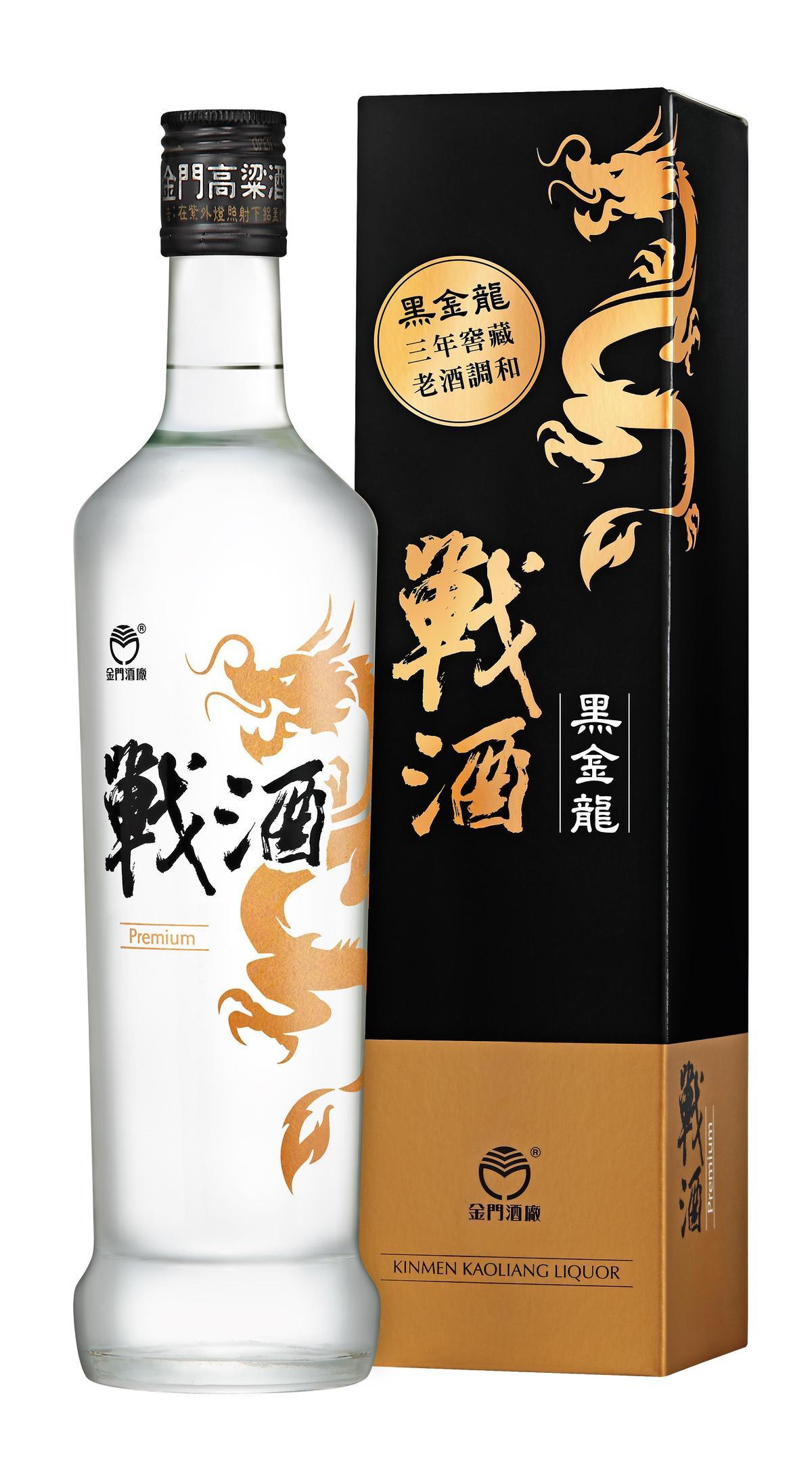 戰酒黑金龍Premium與包裝盒