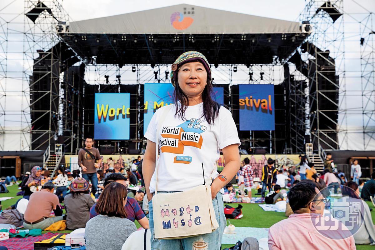 風潮音樂企劃總監于蘇英,連3年擔任「世界音樂節@台灣」策展人,打造出極富台灣特色的世界音樂節。