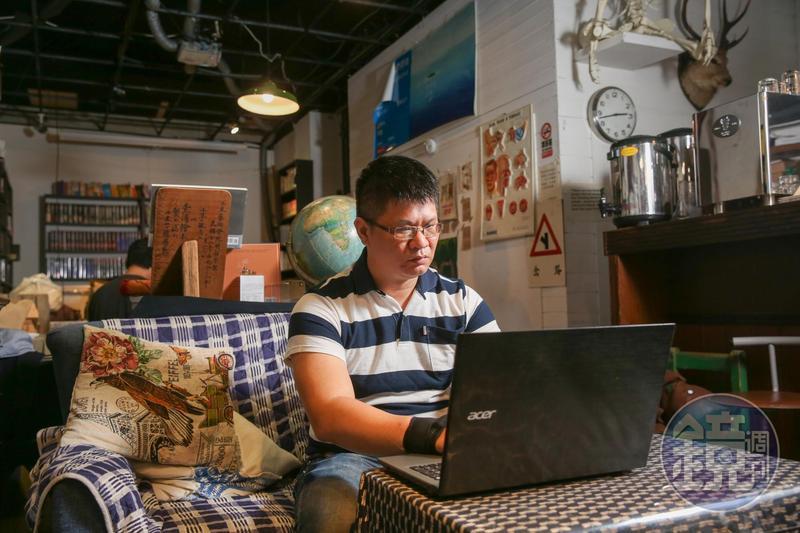 命案現場清理師工作辛苦,盧致宏不顧親友反對堅持要做,他常會把一些故事與心得寫在粉絲專頁。