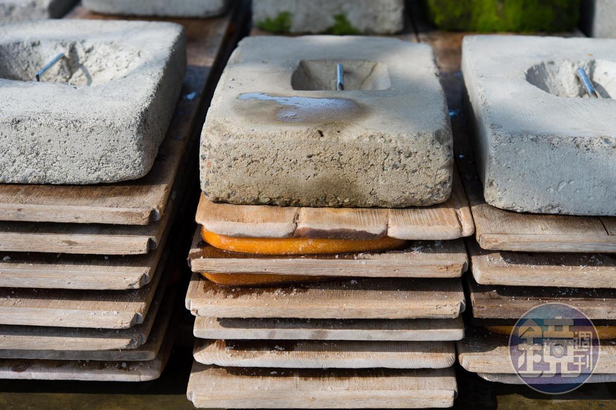 壓磚是影響烏魚子口感的一大關鍵。