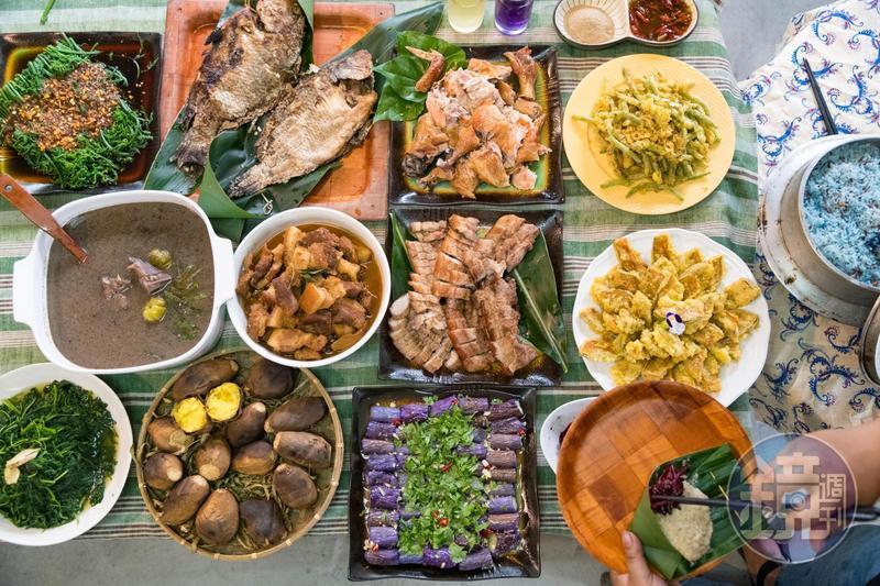 部落風味大餐呈現美好的大地滋味。