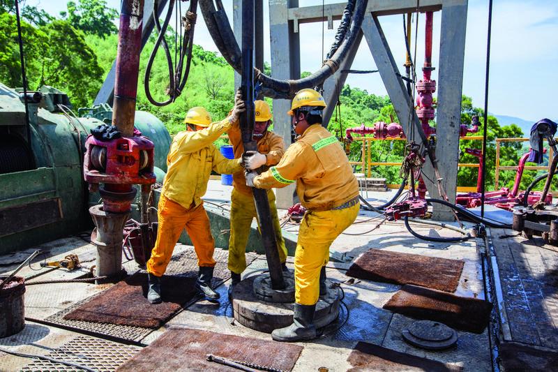 中油曾在印尼購買礦權,戴謙透露,該案為公司賺進至少6億美元。(中油提供)