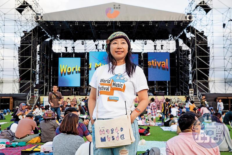 風潮音樂企劃總監于蘇英,連3年擔任「世界音樂@台灣」策展人,打造出極富台灣特色的世界音樂節。