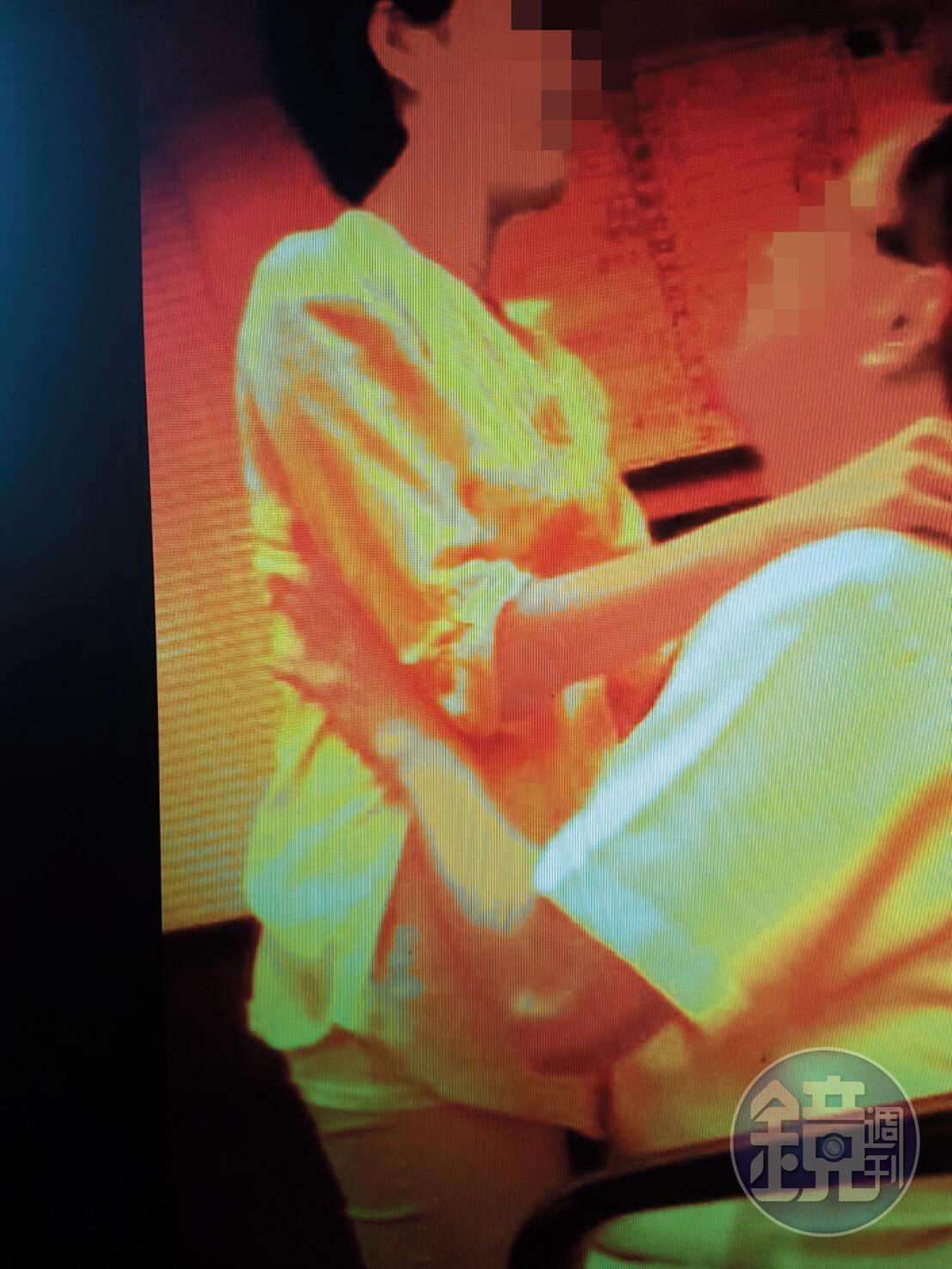 性愛影片曝光後,元配才知道原來何女也是她老公的情婦。(讀者提供)