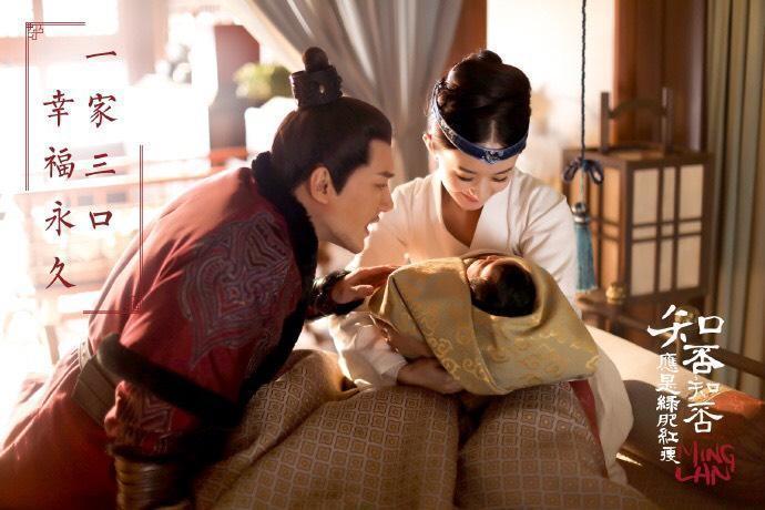 趙麗穎與馮紹峰一家三口畫面將在新戲《知否知否應是綠肥紅瘦》出現。(LIVETV提供)