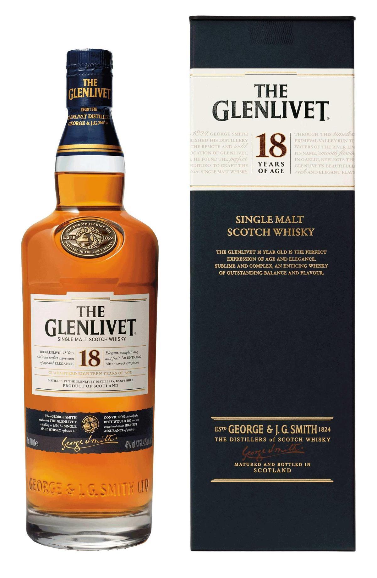 格蘭利威18年,表現全面、酒體均衡的超級傑作。