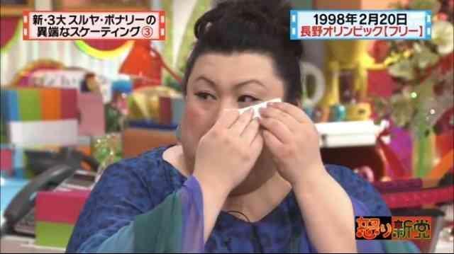 松子難得在電視上透露自己的失戀過往。(翻攝Girls Channel網站)
