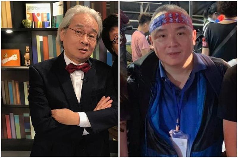 對於作家馮光遠(左)批評「人品太差」,高雄市觀光局長潘恆旭(右)將提告。(翻攝自馮光遠、潘恆旭臉書)