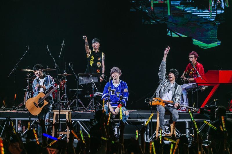 八三夭將在3月唱進高雄巨蛋,要把台北場沒跳滿的熱情用在高雄場。 (JUST LIVE就是現場提供)