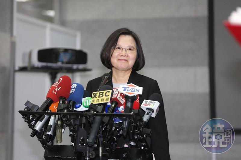 總統蔡英文近日強勢回應中國國家主席習近平「台灣不接受一國兩制」,有支持者稱她為「辣台妹」。