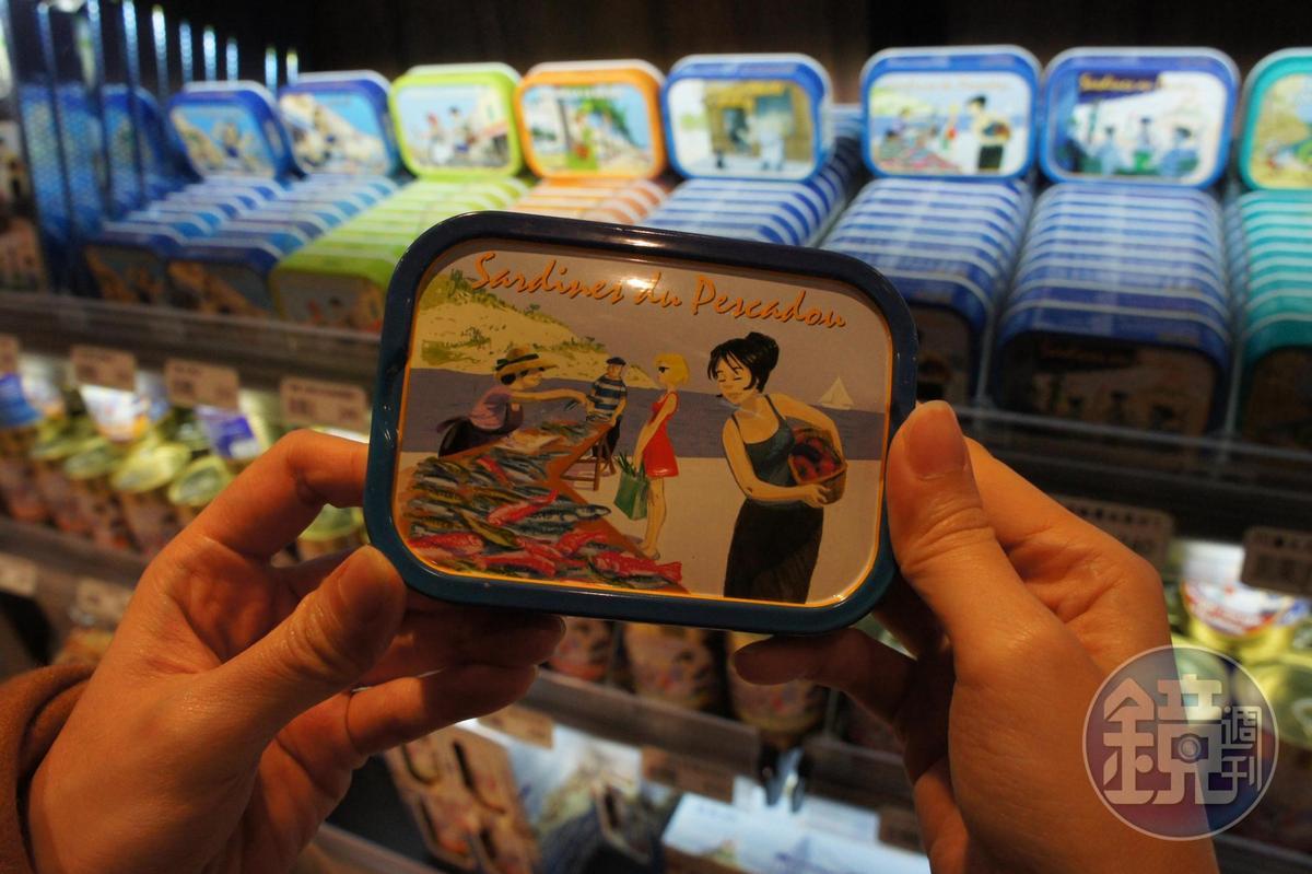 法國「Ferrigno」油漬魚罐頭。