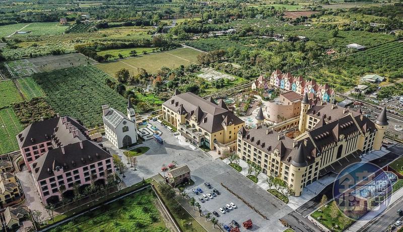 占地2萬坪、多達40棟建築物的「瑞穗春天國際觀光酒店」已經開始試營運。